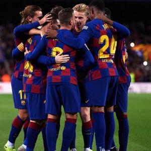 FC Barcelona vs Osasuna